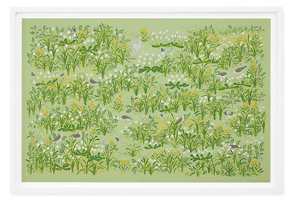 Haruna Niiya, Fluff Season, 2021, Limited Edition Silkscreen