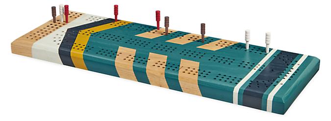 Portage Cribbage Board