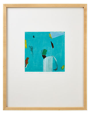 Juni Van Dyke, Blue/Green Untitled 2020, Limited Edition Print