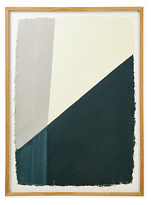 John Robshaw, Dip Dye #4, 2021, Haze, Limited Edition Framed