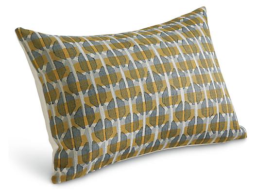 Lattice 20w 13h Throw Pillow