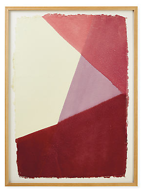 John Robshaw, Dip Dye #5, 2021, Rose, Limited Edition Framed