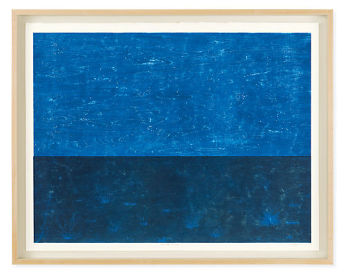 Ayomi Yoshida, Field of White Grass, Moonlight, 2020, Limited Edition