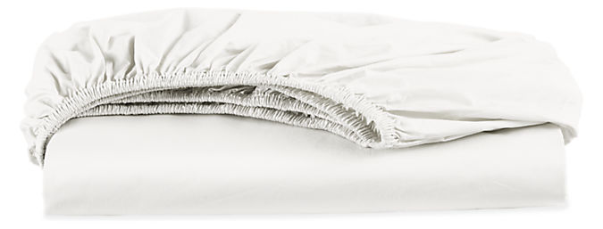 Signature Percale Queen Fitted Sheet
