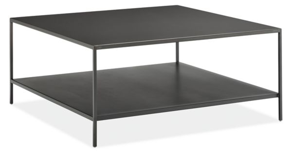 Picture of: Slim Coffee Tables In Natural Steel Modern Coffee Tables Modern Living Room Furniture Room Board