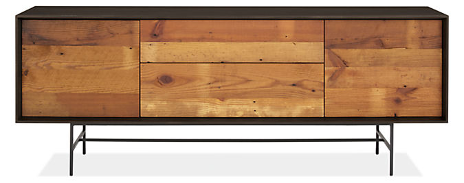 McKean 72w 20d 27h Reclaimed Wood Media Cabinet