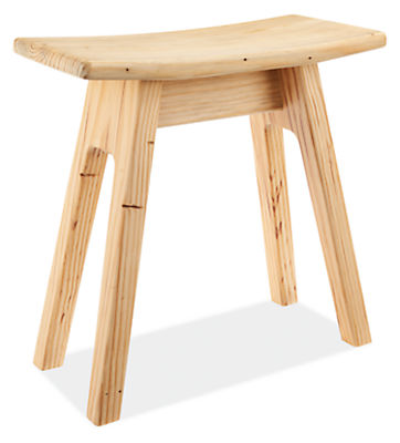 Hanneman 17h Curve Top Reclaimed Wood Stool