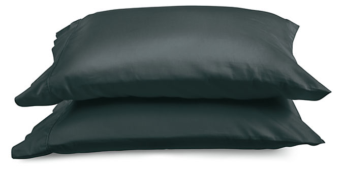 Tailored Sateen Standard Pillowcase Pair