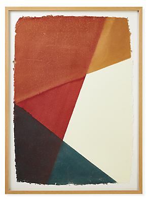 John Robshaw, Dip Dye #5, 2021, Spice, Limited Edition Framed