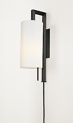Leslie Wall Sconce Plug In Modern Office Lighting Modern Office Furniture Room Board