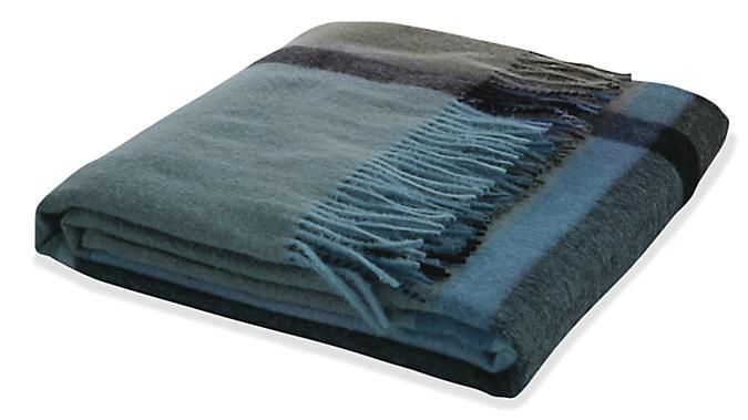 Horizon Plaid Throw Blanket