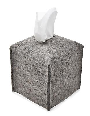 Paros Square Tissue Box Cover