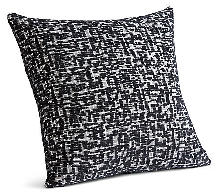 Staccato 24w 24h Throw Pillow in Black/White