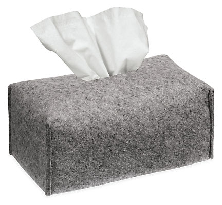 Paros Rectangular Tissue Box Cover