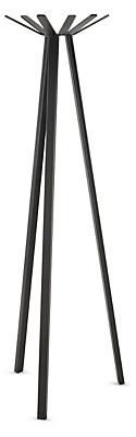 Utility 25w 25d 67h Six-Arm Coat Rack