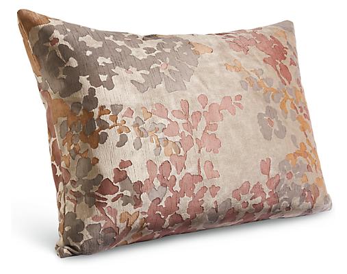 Fleur 22w 16h Throw Pillow