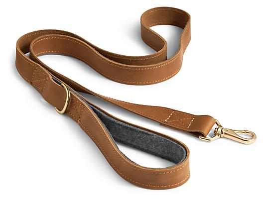 Miles Leather Leash
