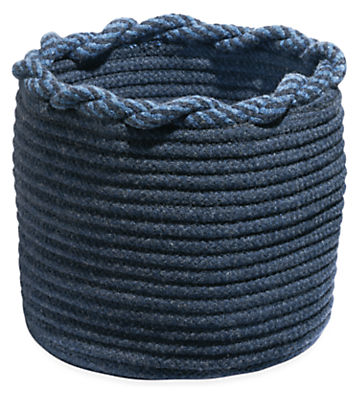 Kori 14 diam 14h Storage Basket with Twist Top