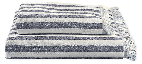 Fence Bath Towel