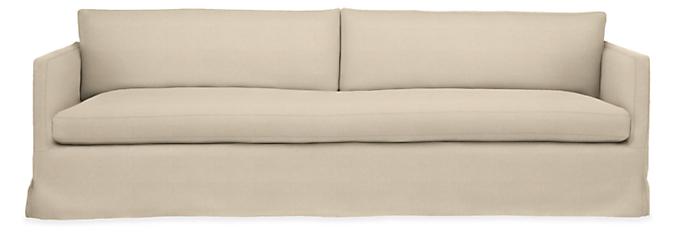"Janus Slipcover for 104"" Bench-Cushion Sofa"