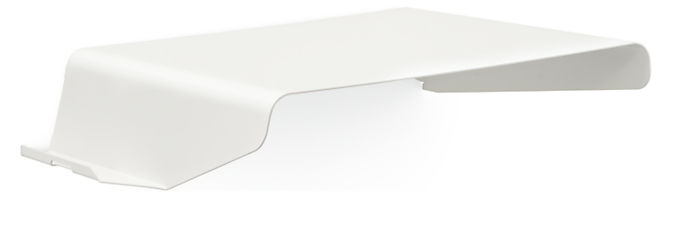 Cooper 18w 13d 3.5h Wall Shelf with Left-side Ledge