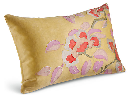 Blossom Pillow Modern Throw Pillows Modern Home Decor Room Board
