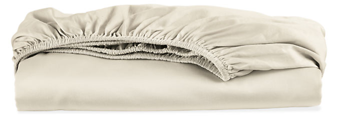 Tailored Sateen Queen Fitted Sheet