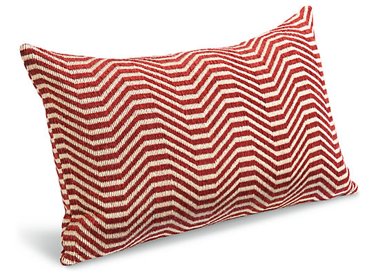 Lines 20w 13h Throw Pillow