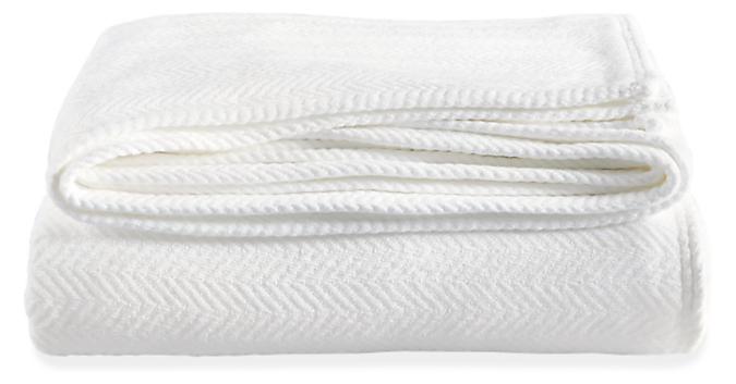 Chevron Weave Cotton Full/Queen Blanket