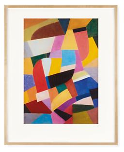 Otto Freundlich, Composition Pastel on Paper