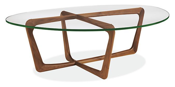 Dunn 47w 33d 15h Coffee Table with Tempered Glass Top