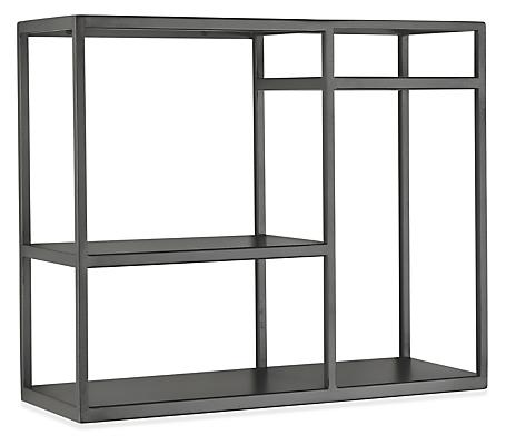 Foshay 24w 20h Four-Shelf Wall Unit