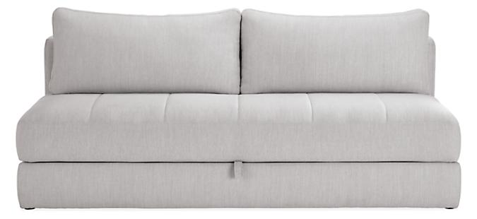 "Bruno 79"" Convertible Sleeper Sofa without Mattress Topper"