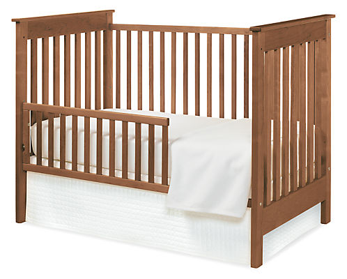 Nest Crib with Toddler Bed Conversion Rail