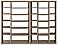Woodwind 92w 17d 72h Open-Back Wall Unit