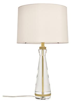 Gatsby 22h Crystal Table Lamp