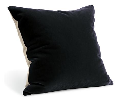 Mohair 24sq Pillow in Blackhawk