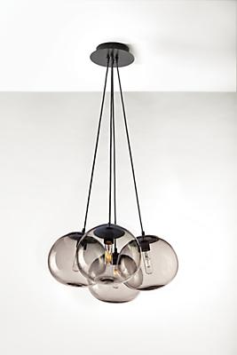 Humboldt Globe Chandelier - Set of Four