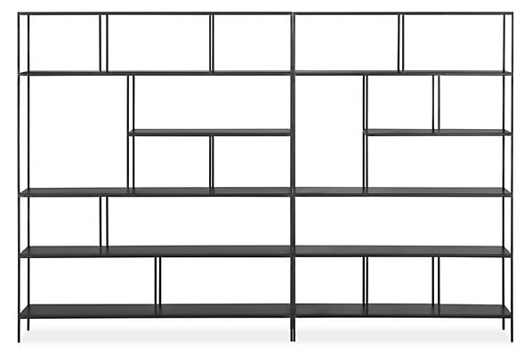 Foshay 108w 15d 72h Bookcase Wall Unit