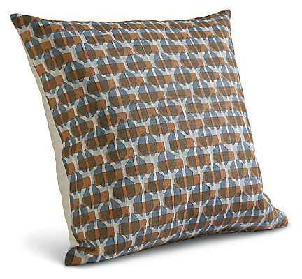 Lattice 22w 22h Throw Pillow