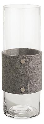 Judd Large Felt Wrapped Vase