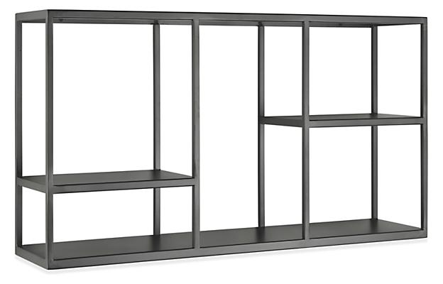 Foshay 36w 20h Four-Shelf Wall Unit