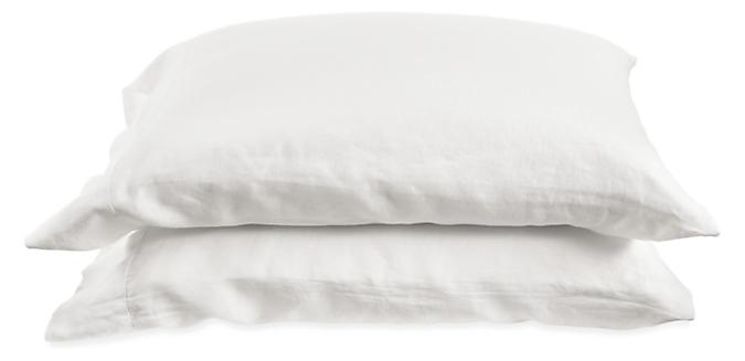 Relaxed Linen Standard Pillowcase Pair