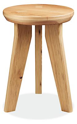 Hollins 12 diam 18h Wood Stool