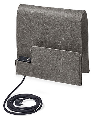 Sidekick Felt Sleeve with Power & Charging Outlet