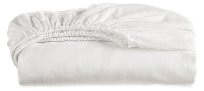 Relaxed Linen Queen Fitted Sheet