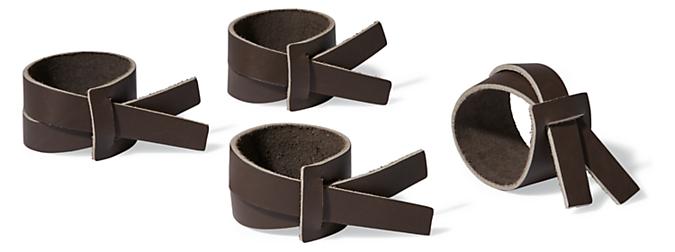 Verza Napkin Rings - Set of 4