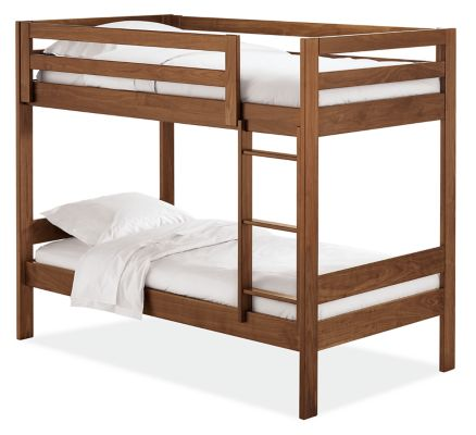 Picture of: Waverly Bunk Beds Twin Over Twin Modern Bunk Beds Loft Beds Modern Kids Furniture Room Board