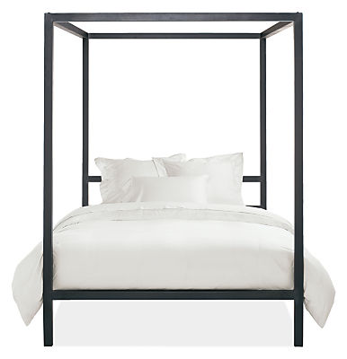 Architecture Bed Modern, Modern Canopy Queen Metal Bed Instructions
