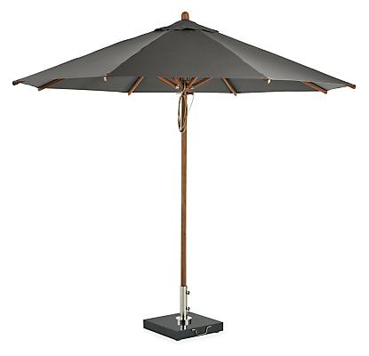 Cirro 10' Patio Umbrella with Bamboo Pole